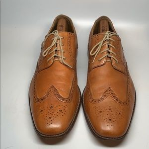Cole Haan men's size 13  leather wingtip shoes